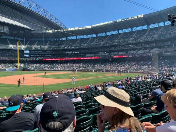 T-Mobile Park, section: 142, row: 21, seat: 7