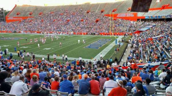 Ben Hill Griffin Stadium, section: H, row: 27, seat: 11