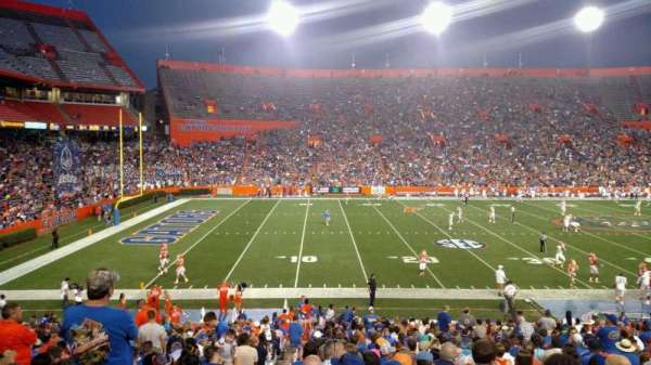 Ben Hill Griffin Stadium, section: 14, row: 30, seat: 27