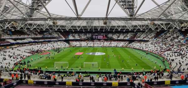 London Stadium, section: 223, row: 53, seat: 250