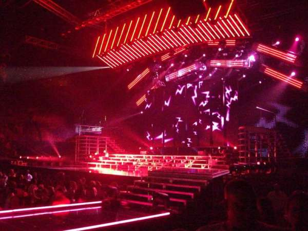 Michelob Ultra Arena, section: 120, row: E, seat: 14