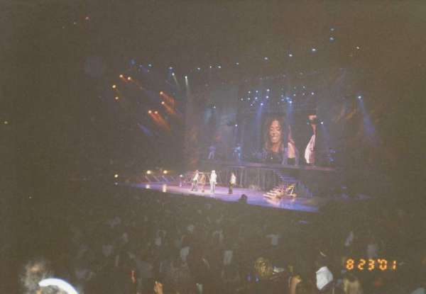 Madison Square Garden, section: 313, row: H, seat: 9