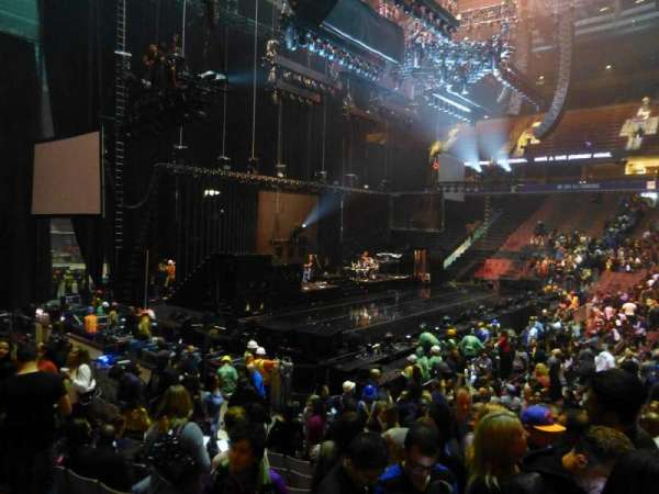 Rogers Arena, section: 114, row: 11, seat: 102