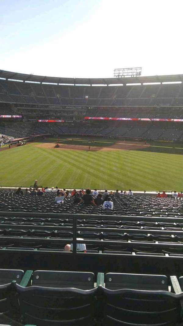 Angel Stadium, section: P246, row: C, seat: 13