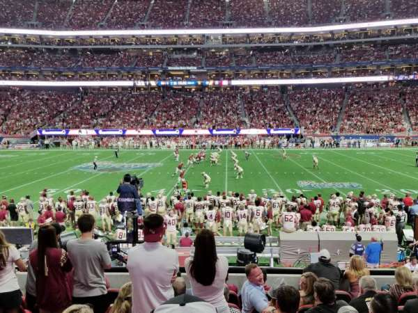 Mercedes-Benz Stadium, section: C127, row: 8, seat: 5