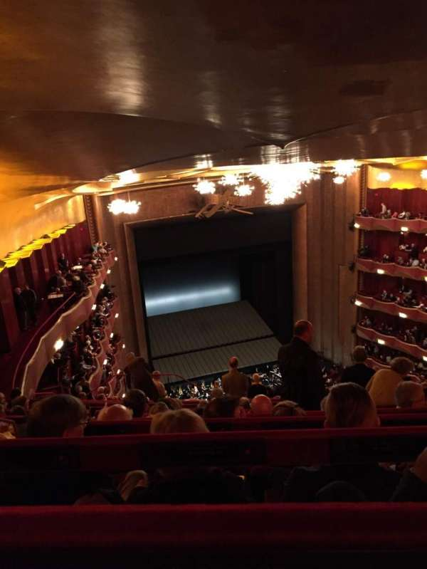 Metropolitan Opera House - Lincoln Center, section: Family circle, row: K, seat: 233