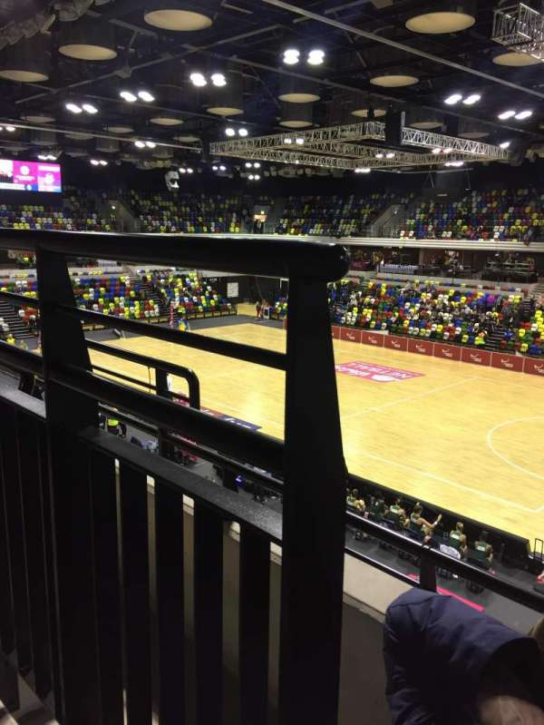 Copper Box Arena, section: 210, row: 12, seat: 38
