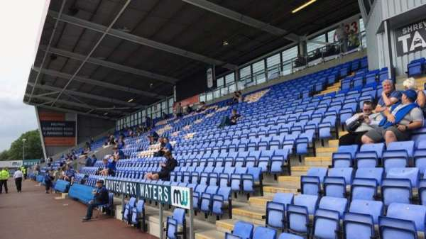 New Meadow, section: Block 20, row: H, seat: 16