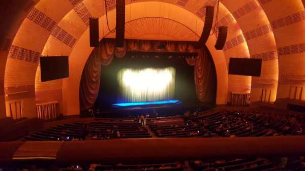 Radio City Music Hall, section: 2nd Mezzanine 6, row: A, seat: 604