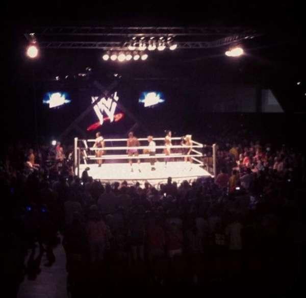 Macon Coliseum, section: 115, row: D, seat: 14