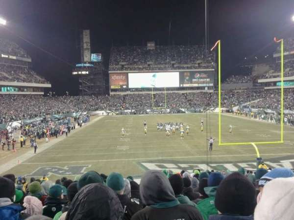 Lincoln Financial Field, section: 110, row: 29, seat: 12