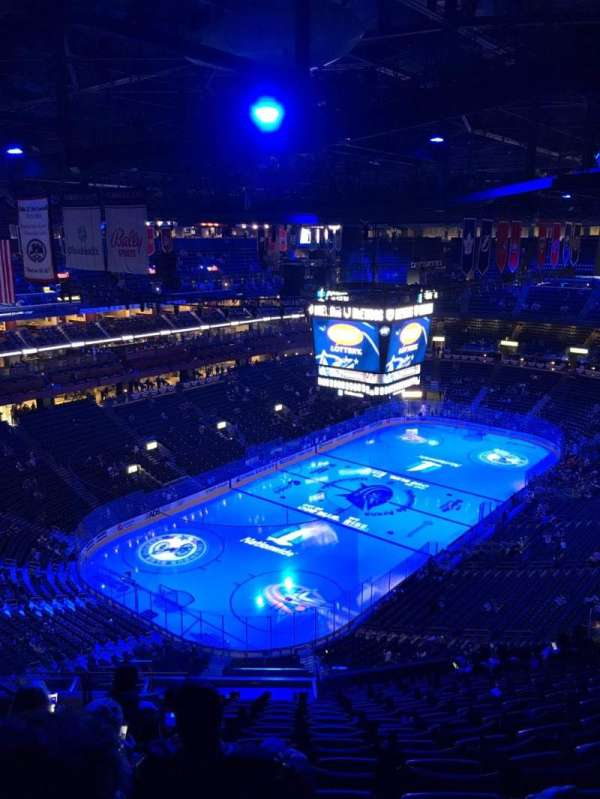 Nationwide Arena, section: 207, row: Q, seat: 21
