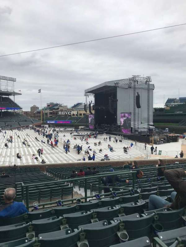 Wrigley Field, section: 240, row: 9, seat: 1