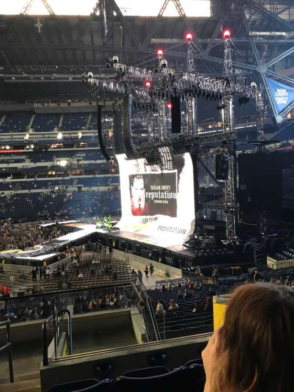 Lucas Oil Stadium, section: 209, row: 8, seat: 24