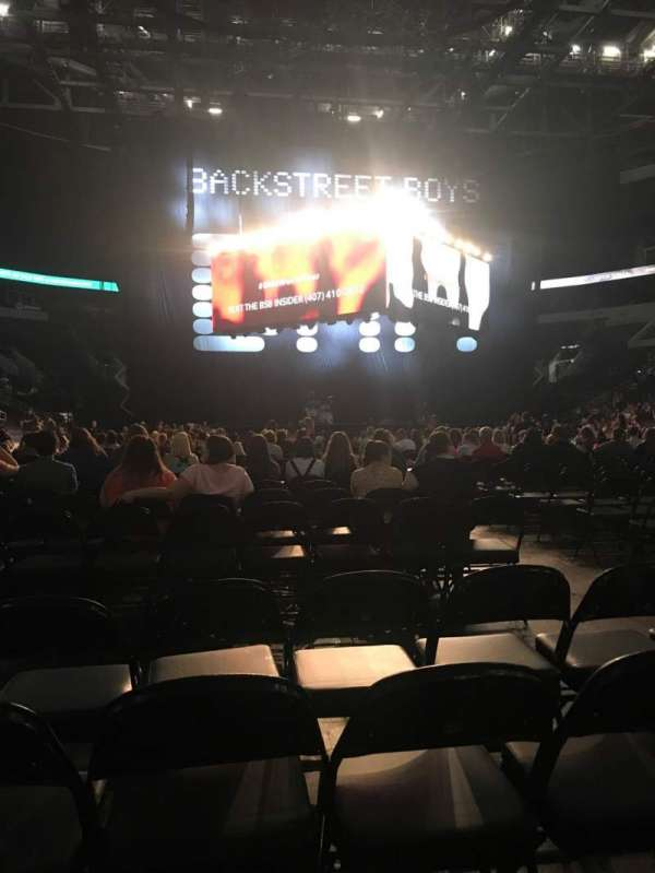 Enterprise Center, section: Floor A, row: 34, seat: 5