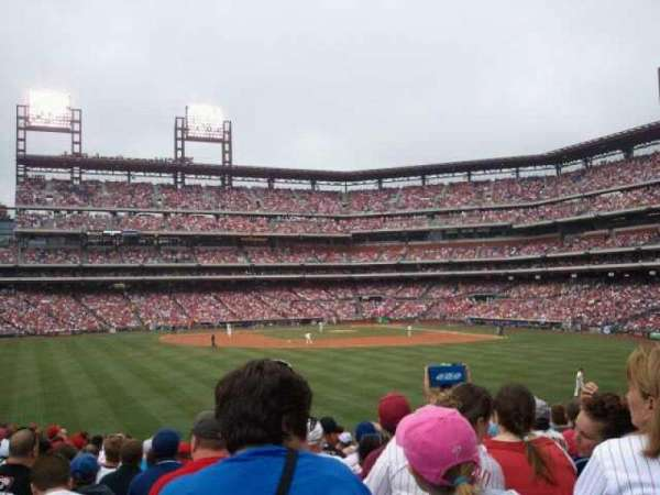 Citizens Bank Park, section: 146, row: 20, seat: 11