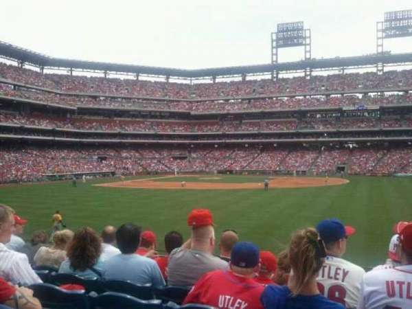 Citizens Bank Park, section: 103, row: 6, seat: 1