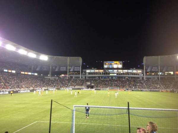 Dignity Health Sports Park, section: 123, row: C, seat: 2