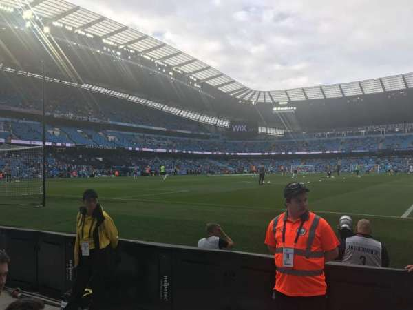Etihad Stadium (Manchester), section: 114, row: 3, seat: 361