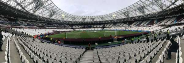 London Stadium, section: 119, row: 13