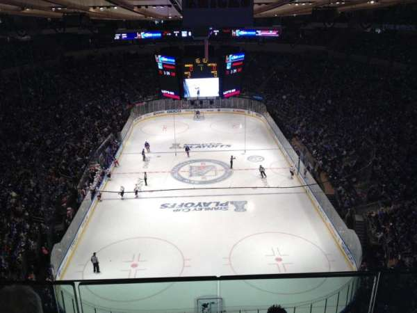 Madison Square Garden, section: West Balcony 17, row: Bs3, seat: 9