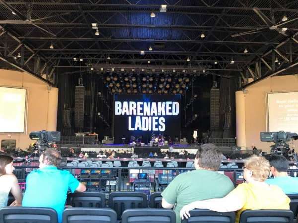 Cellairis Amphitheatre at Lakewood, section: 204, row: MM, seat: 13