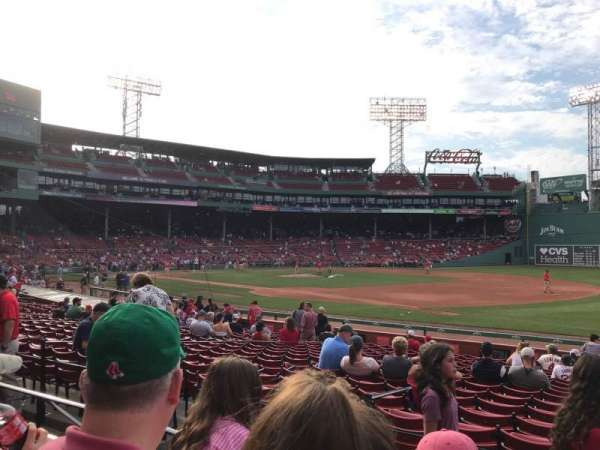 Fenway Park, section: Loge Box 102, row: CC, seat: 1