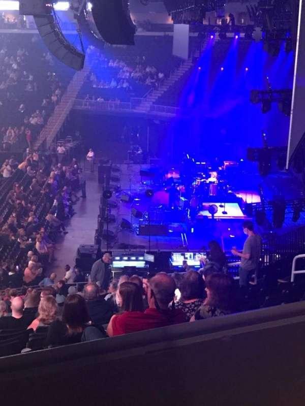Infinite Energy Arena, section: 108, row: AA, seat: 16