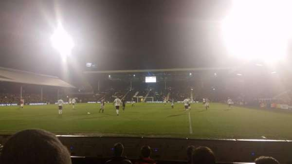 Craven Cottage, section: H6, row: D, seat: 154
