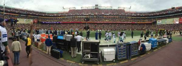 FedEx Field, section: 21, row: 1, seat: 13