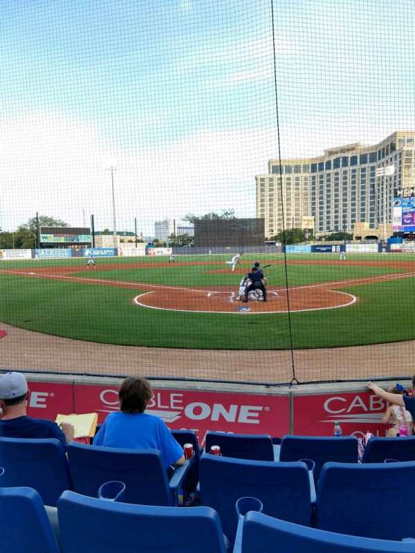 MGM Park, section: 100, row: E, seat: 7