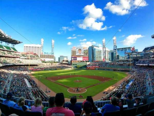 SunTrust Park, section: 226, row: 4, seat: 6