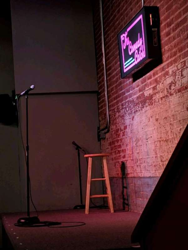 The Comedy Catch, section: Main Floor, row: 1, seat: Table 6 seat 1