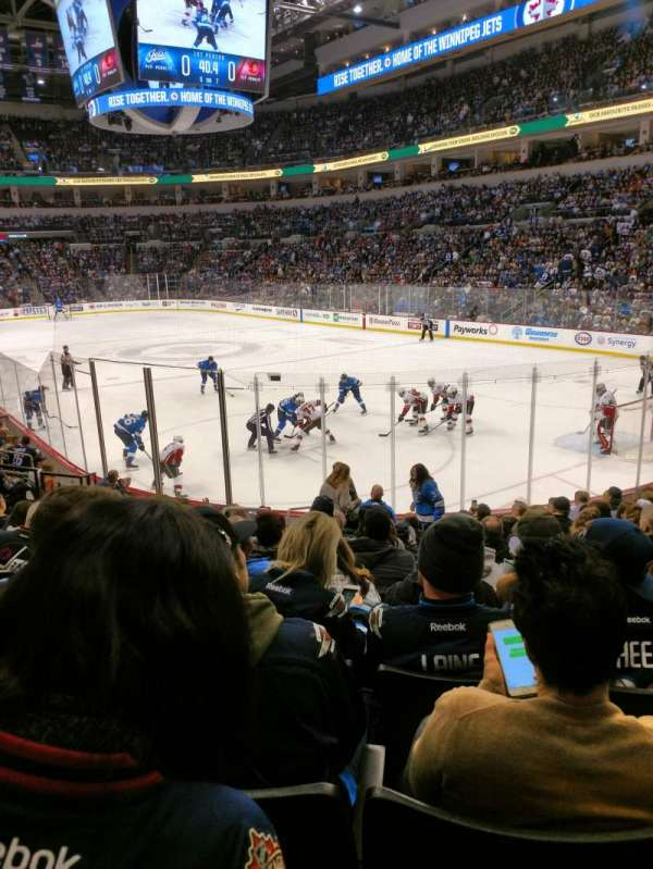 Canada Life Centre, section: 113, row: 13, seat: 22