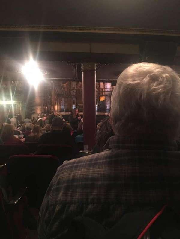 CIBC Theatre, section: Orchestra C, row: ZZ, seat: 116