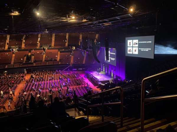The Forum, section: 210, row: 10, seat: 13