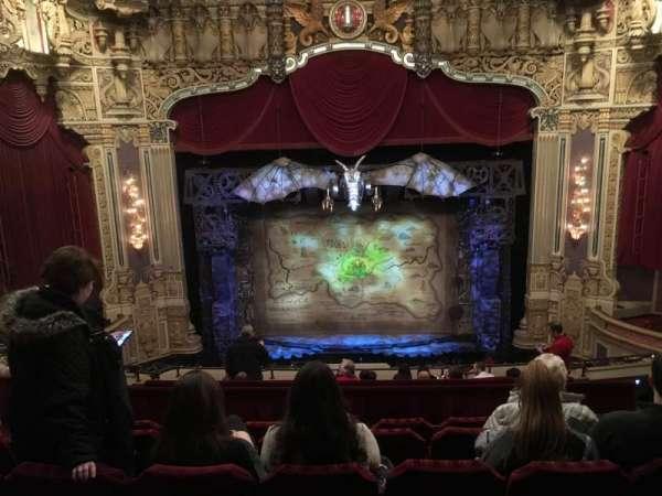 James M. Nederlander Theatre, section: Balcony C, row: K, seat: 310