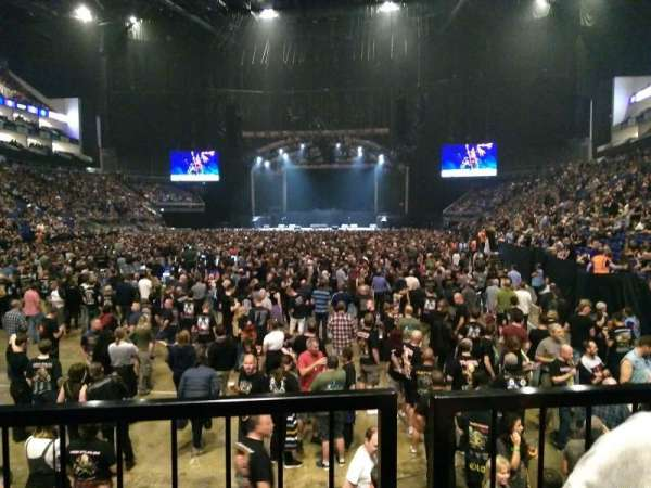 The O2 Arena, section: 108, row: J, seat: 229