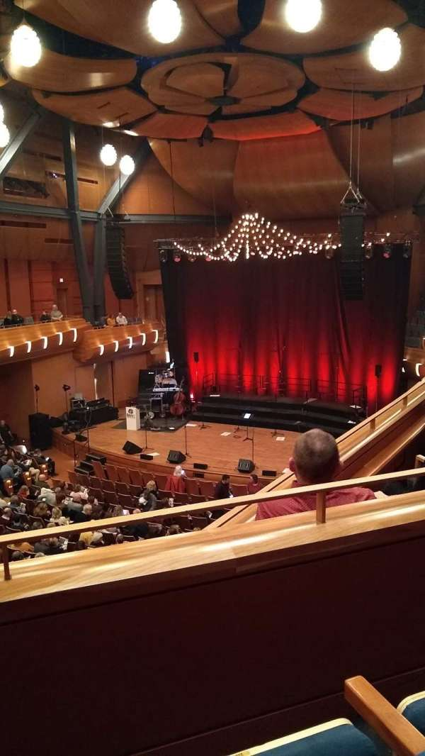 Bella Concert Hall, section: Balcony Right, row: B, seat: 233