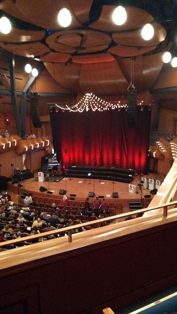 Bella Concert Hall, section: Balcony Right, row: B, seat: 230