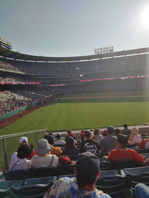 Angel Stadium, section: 236, row: L, seat: 5