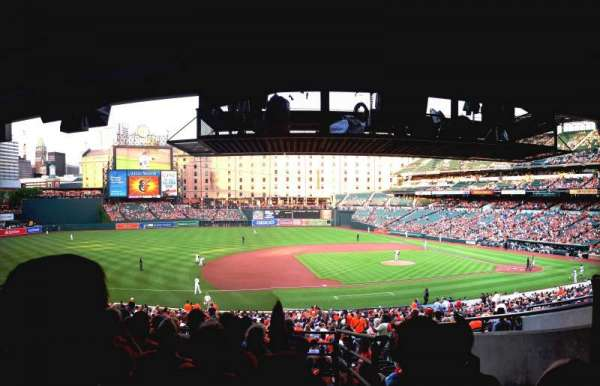 Oriole Park at Camden Yards, section: 55, row: 8, seat: 2