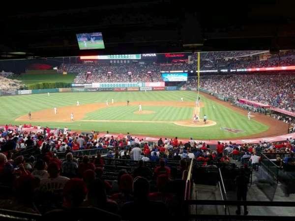 Angel Stadium, section: T213, row: M, seat: 10