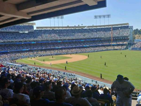 Dodger Stadium, section: 162LG, row: S, seat: 1