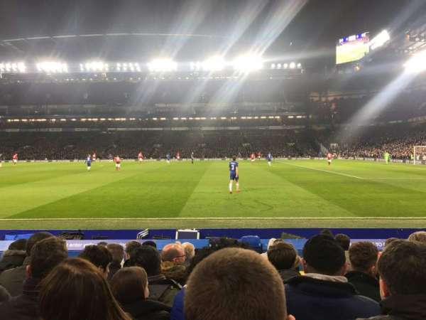Stamford Bridge, section: East Stand Lower 6, row: L, seat: 152