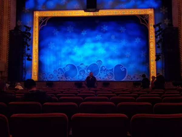 Hershey Theatre, section: Orchestra Center, row: L, seat: 107
