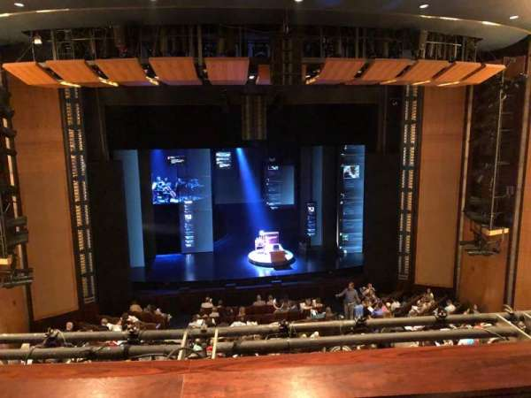The Kennedy Center Eisenhower Theater, section: Balcony, row: B, seat: 112
