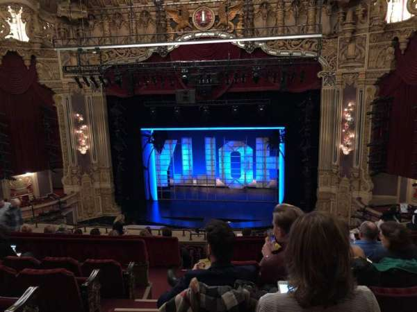 James M. Nederlander Theatre, section: Balcony RC, row: K, seat: 322