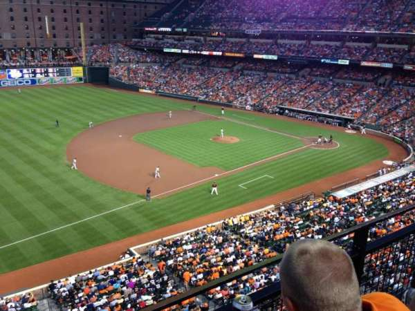 Oriole Park at Camden Yards, section: 362, row: 2, seat: 5