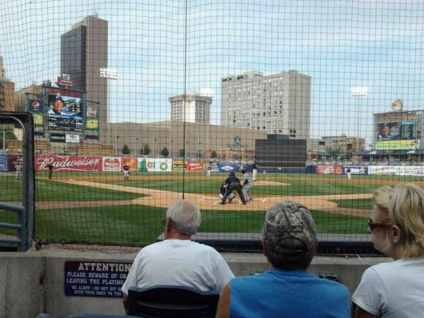 Fifth Third Field, section: 111, row: E, seat: 6